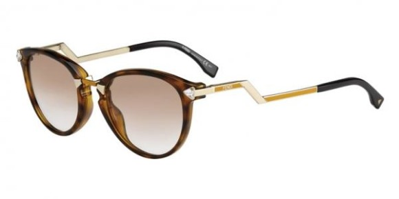 FENDI FF 0039/S IRIDIA COLLECTION - FG9 (1M) - HV GDOCHR