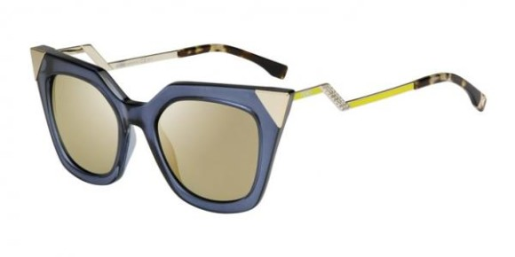FENDI FF 0060/S IRIDIA COLLECTION - MSU (MV) - BLGRYGDLI