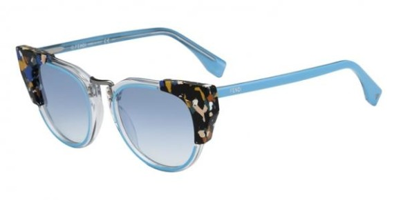 FENDI FF 0074/S GALASSIA COLLECTION - RCJ (ST) - TRQMLTCRT