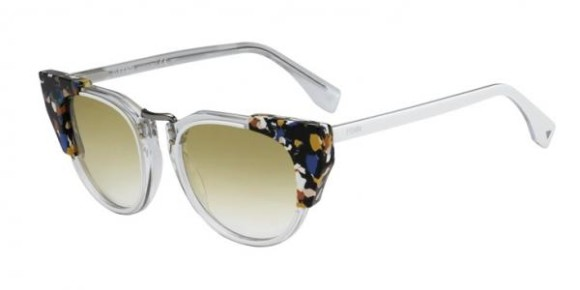 FENDI FF 0074/S GALASSIA COLLECTION - RCK (SV) - WHCRMLTRT