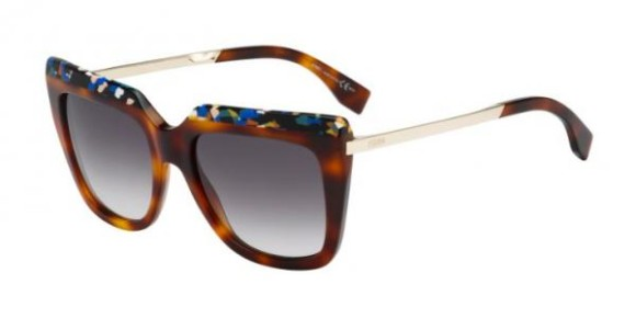 FENDI FF 0087/S GALASSIA COLLECTION - CUA (9C) - MLTCHV GD