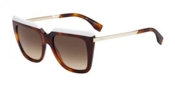 FENDI FF 0087/S GALASSIA COLLECTION - CUM (JD) - WHTHVN GD