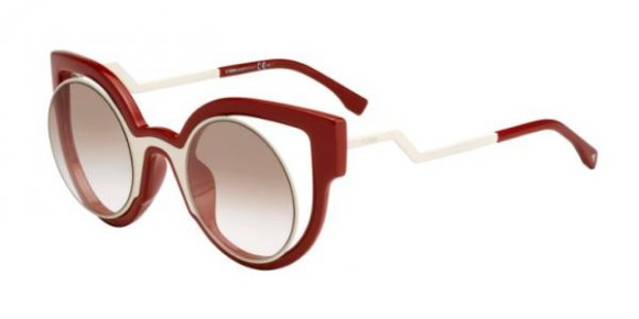 FENDI FF 0137/S PARADEYES COLLECTION - NT4 (1M) - CREAM RED