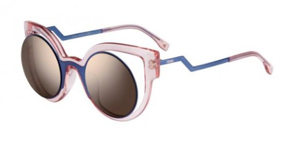 FENDI FF 0137/S PARADEYES COLLECTION - NT7 (LC) - BLUE PINK