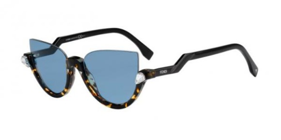 FENDI FF 0138/S BLINK COLLECTION - N75 (VD) - HVSPTTGRN