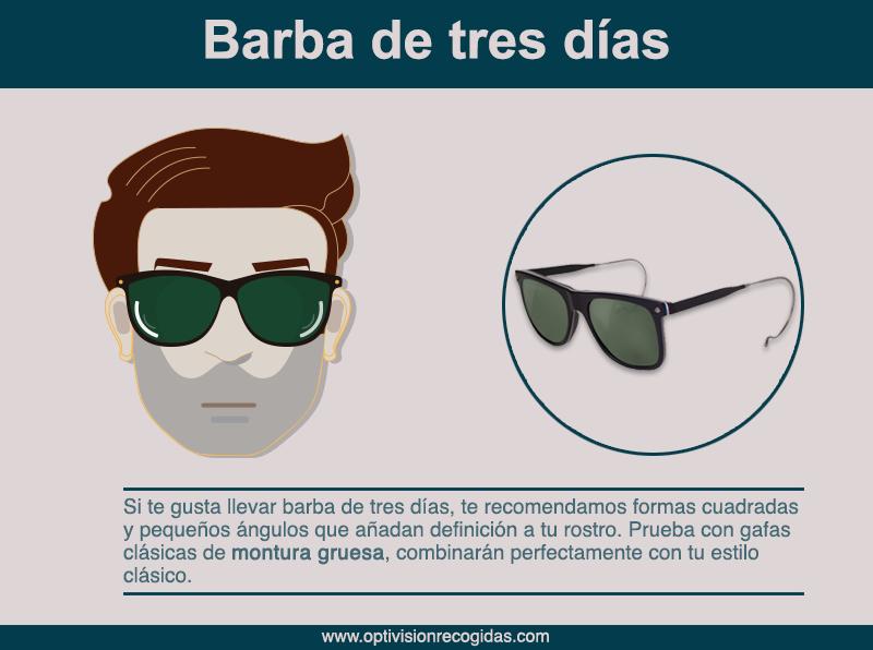 Gafas de Sol - Barba 3 días