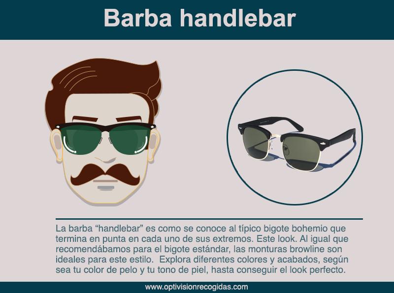 Gafas de Sol - Barba estilo Handlebar