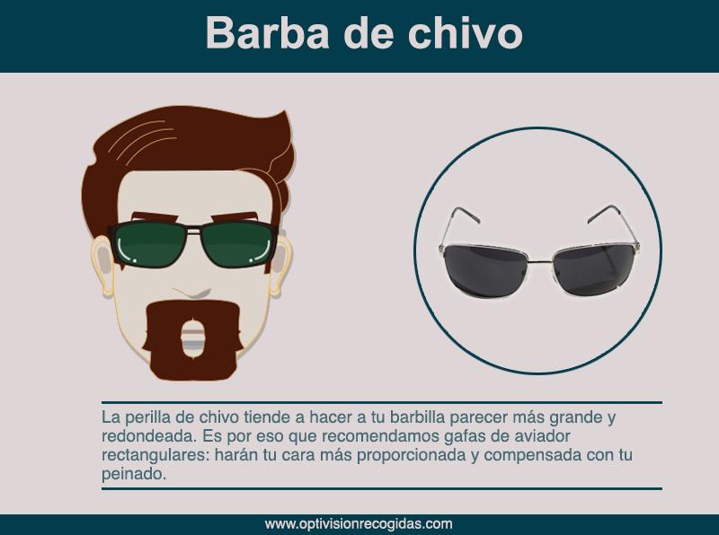 Gafas de Sol - Barba estilo Chivo