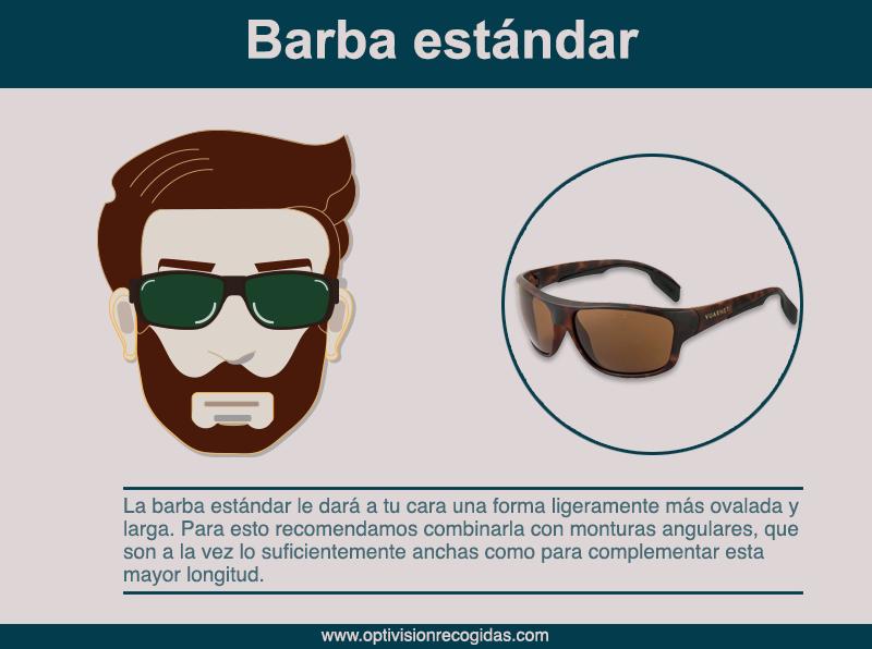 Gafas de Sol - Barba estándar