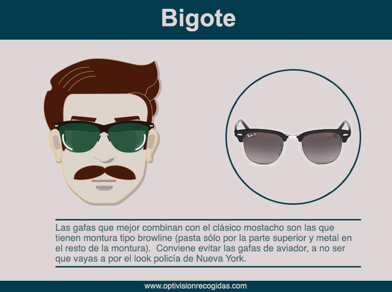Gafas de Sol - Barba estilo Bigote