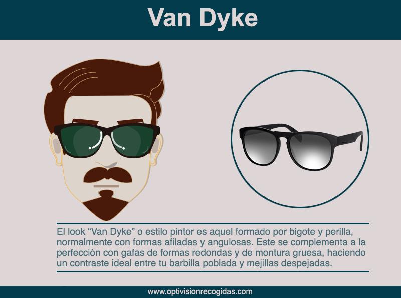 Gafas de Sol - Barba estilo Van-Dyke